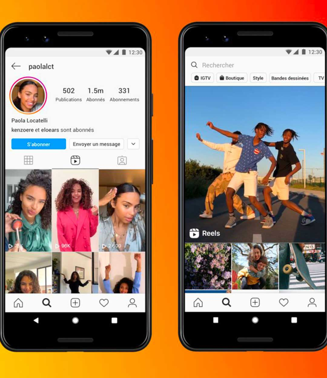 "Instagram sort ""Reels"" pour concurrencer TikTok"