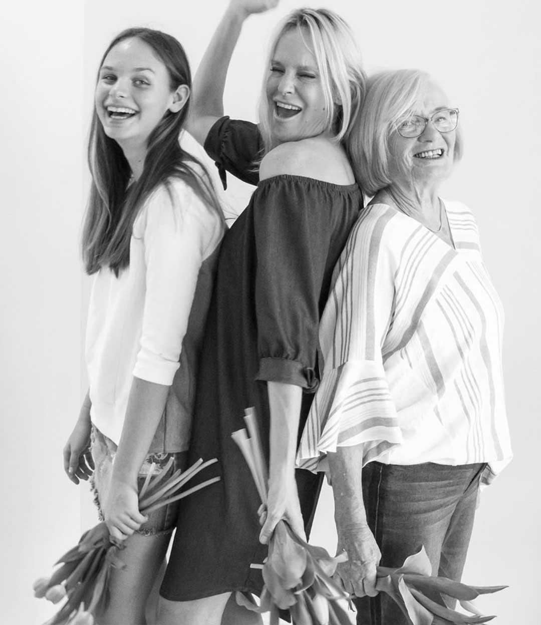#Challengeaccepted : Portraits de femmes en noir et blanc sur Instagram